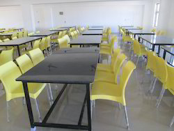 Canteen Furniture - SS Dining Table Manufacturer from Chennai