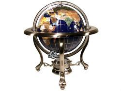 Antique Executive Desk Vintage Style World Globe