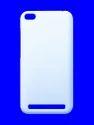 White Plastic 3d Sublimation Cover For Redmi 5a