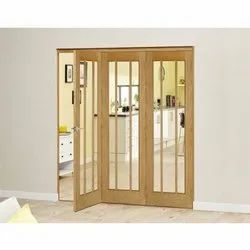 Oak Wooden Bifold Door