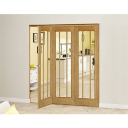 Oak Wooden Bifold Door