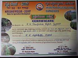 Krishi Mela-2017, Dharwad, Karnataka