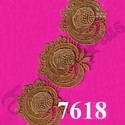 Double Sided Bridal Lace, For Saree