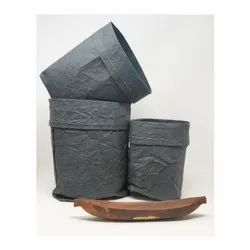 Handmade Storage Paper Sacks (set of 3)