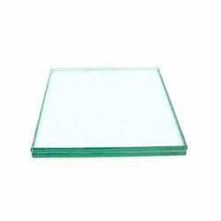 Transparent Flat Tempered Glass