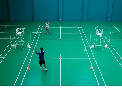Pu & Acrylic Badminton Court Flooring