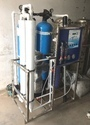 FRP Industrial RO Plant 600 LPH Compaq