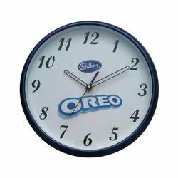 Zulu Quartz Blue Customized Logo Clocks