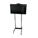 Stainless Steel Movable Tv Trolley