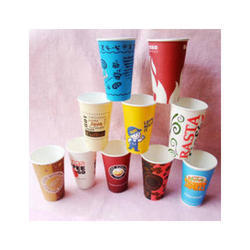 Paper Printed Disposable Coffee Cup, for Event and Party Supplies