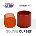 150 ml Earthen Square Cups