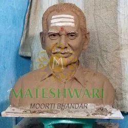 Human Bust Marble Moorti