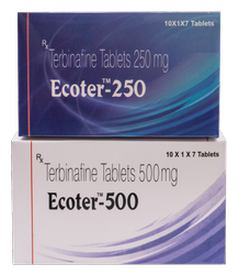 Terbinafine 250/ 500 mg(Ecoter- 250/ 500 - mg Tablet)