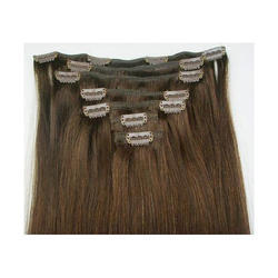 Clip In And Clip On Human Hair Extensions