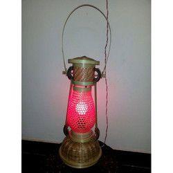 Bamboo Red Jali Lamp Shade