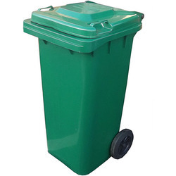 UNI Bin with Four Wheels and Lid