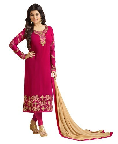 5ac2e13505 Georgette Girls Daily College Wear Embroidery Salwar Kameez, Rs 2080 ...