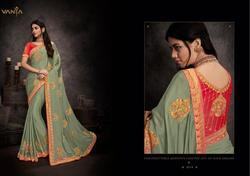 Vanya Vol-7 Series 1601-1618 Stylish Party Wear Fancy Saree (Single Available)