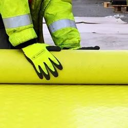 Polymax Hi-viz Yellow Safety Walkway Matting Roll