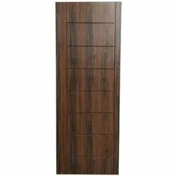 Interior Hinged Designer Wooden Door, For Home, Size: 6.5 X 4 Feet