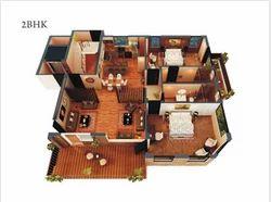 2 BHK Apartments Building Construction Services