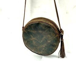 Designer Leather Smart Sling Bag