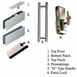 Standard Swing Glass Door fittings, Model Name/Number: 6600
