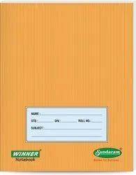 Sundaram Notebook, For School