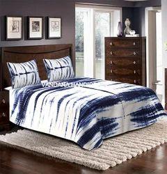 Indian Throw Shibori Dye Bed Sheet