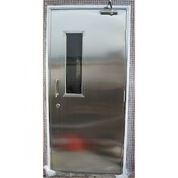 Fire Rated Stainless Steel Door