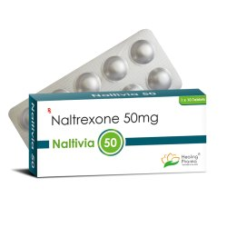 Naltivia 50mg - Naltrexone (50mg)