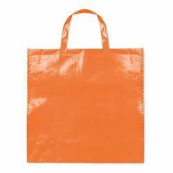 Orange PP Woven Laminated Bag