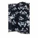 Printed Black Mens Casual Shirt Fabric, Use: Mens Shirt