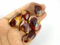 Natural Mookaite Jasper Cabochon Gemstone