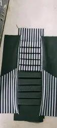 Multicolor Rexine Bamboo Seat Cover