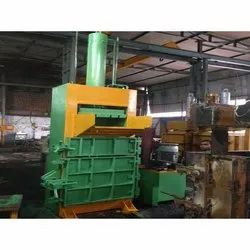 Mild Steel Hydraulic PET Bottle Baling Press Machine