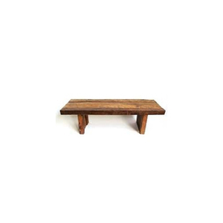 Teak Railroad Tie Benches