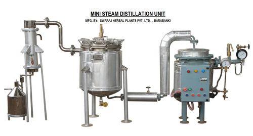 SWARAJ / SHPPL Mini Steam Distillation Unit, Capacity: 100l