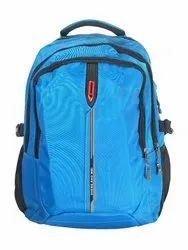 Sky Blue Men Backpack