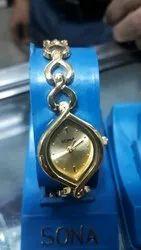Ladies Wrist Chain Watch