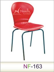 NF-163 Armsless Red Conference Chair