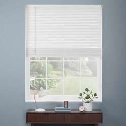 Glemtech White Wooden Venetian Blinds