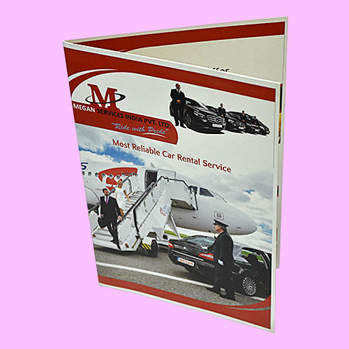 Printed Promotional Brochure At Rs  Piece  Advertising
