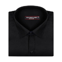 Black Color Premium Linen Formal Shirt