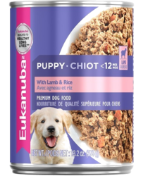 Canned Nutrition Eukanuba Puppy With Lamb And Rice