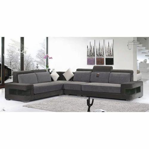 Modern Designer L Shaped Sofa Set for Home, Rs 10000 /set ...