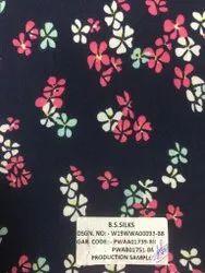 Rivera Printed Crepe Fabric