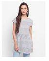 Medium Cotton Dobby Elasticated Waist Tunic