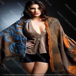 Fine Wool Mohair Shawl