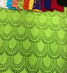 Latest Swiss Voile Lace Fabric Exporter